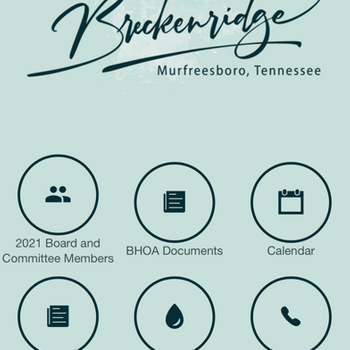 Breckenridge HOA iphone image 1