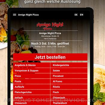 Amigo Night Pizza Heilbronn ipad image 1