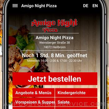 Amigo Night Pizza Heilbronn iphone image 2