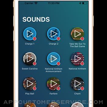 Baseball Stadium Sounds iphone image 1