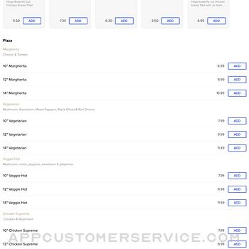 Champion Pizza. ipad image 3