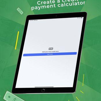 Credit payments calculator ipad image 1