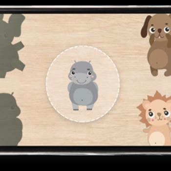 Cute Kid Puzzle iphone image 1