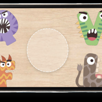 Cute Kid Puzzle iphone image 3