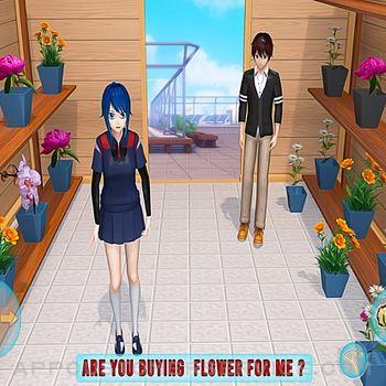 Anime Girl Yandere School Life ipad image 3