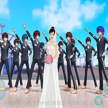 Anime Girl Yandere School Life ipad image 4