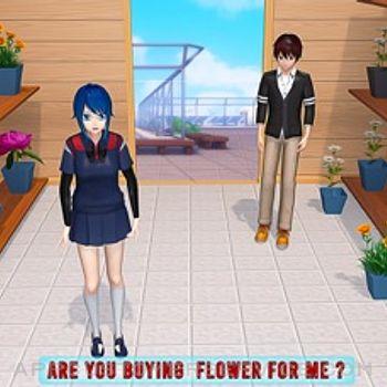 Anime Girl Yandere School Life iphone image 3