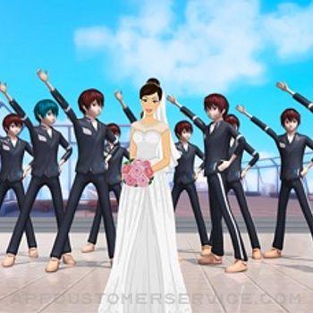 Anime Girl Yandere School Life iphone image 4