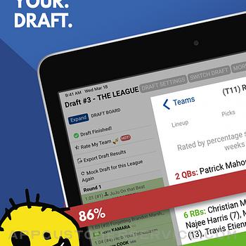 Fantasy Football Draft 2021 ipad image 1