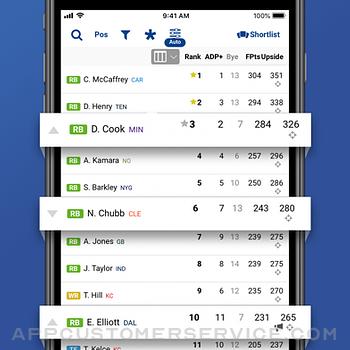 Fantasy Football Draft 2021 iphone image 3