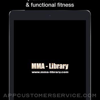 MMA Library ipad image 1
