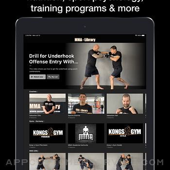 MMA Library ipad image 2