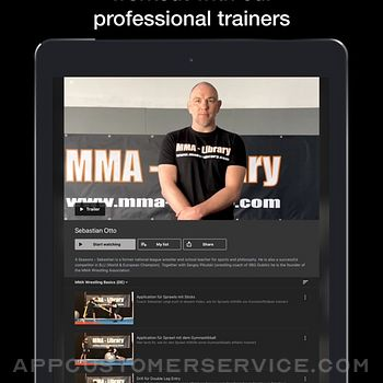 MMA Library ipad image 3
