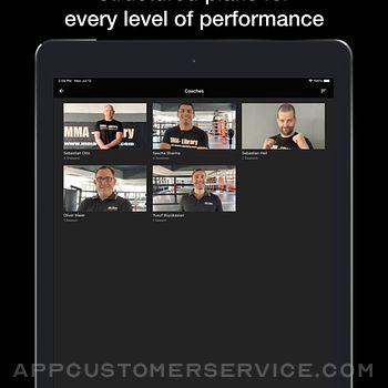 MMA Library ipad image 4