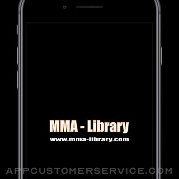MMA Library iphone image 1