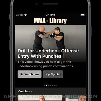 MMA Library iphone image 2