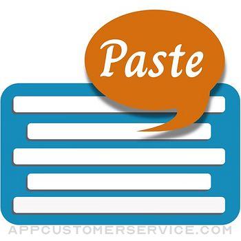 Auto Paste Keyboard Customer Service
