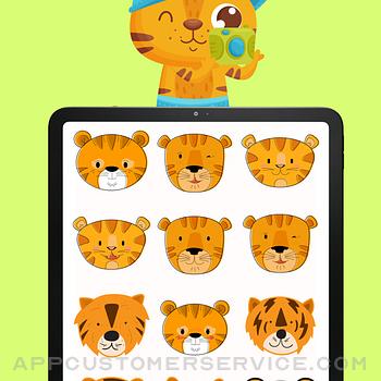 Baby Tiger Stickers! ipad image 3
