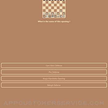 Chess master tutorial Quiz ipad image 1