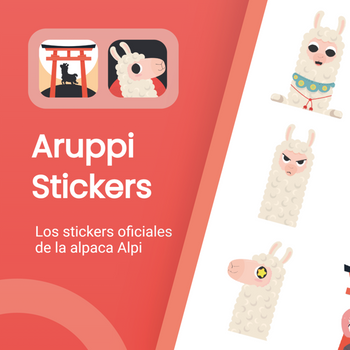 Aruppi Stickers ipad image 1