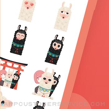Aruppi Stickers iphone image 2