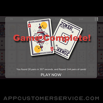 52cardConcentration! ipad image 2