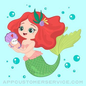 Pretty Mermaid Stickers Customer Service