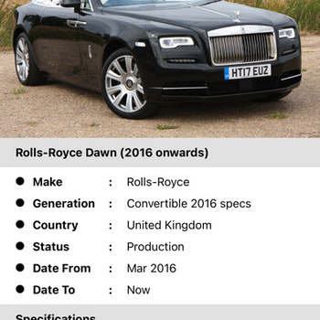 Auto Info iphone image 4