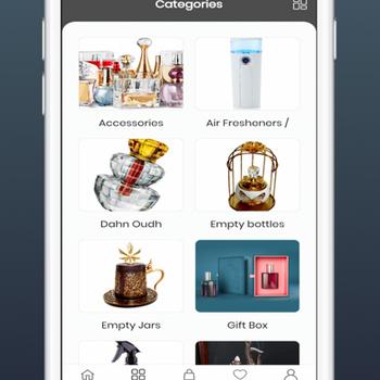 Bahar Perfumes iphone image 1