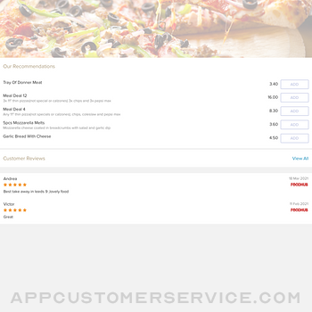 City Pizza. ipad image 2