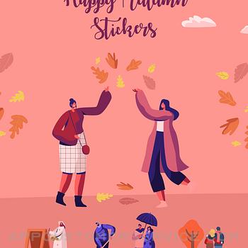 Happy Autumn Stickers ipad image 1