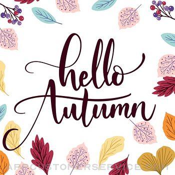 Happy Autumn Stickers Customer Service