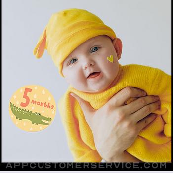 Baby Photo Editor - Baby Story ipad image 1