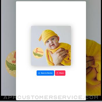 Baby Photo Editor - Baby Story ipad image 3