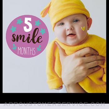 Baby Photo Editor - Baby Story iphone image 1