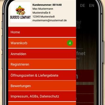 Burrito Com Saarbrücken iphone image 3