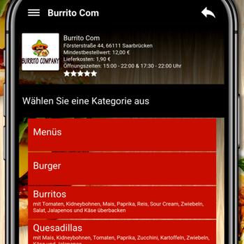 Burrito Com Saarbrücken iphone image 4