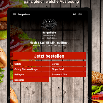 Burgerliebe Saarbrücken ipad image 1