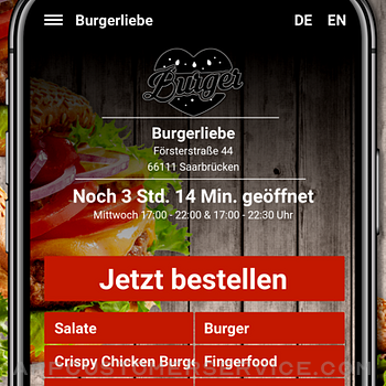 Burgerliebe Saarbrücken iphone image 2