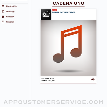 Cadena UNO Radio ipad image 1