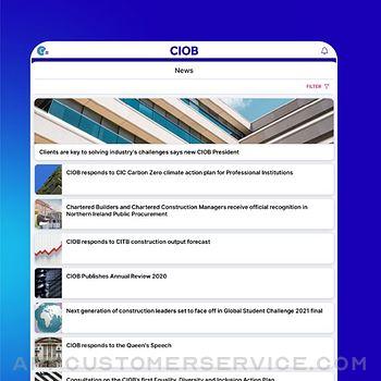 CIOB Connect ipad image 4