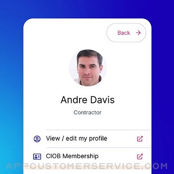CIOB Connect iphone image 2