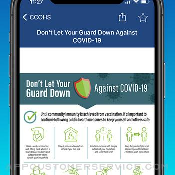 CCOHS Safe Work iphone image 4