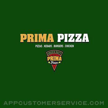 Prima Pizza. Customer Service