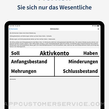 Buchhaltung - Stichworte ipad image 2