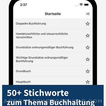 Buchhaltung - Stichworte iphone image 1