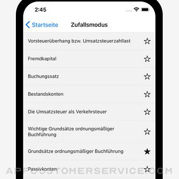 Buchhaltung - Stichworte iphone image 4