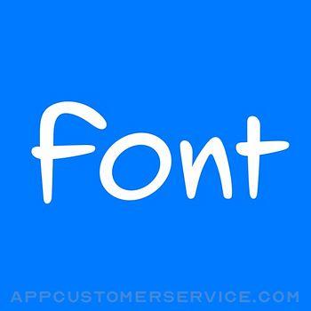 Fontmaker - Font Keyboard App Customer Service