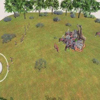 Animal battle simulator:Humans ipad image 2