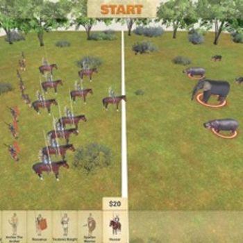 Animal battle simulator:Humans iphone image 2